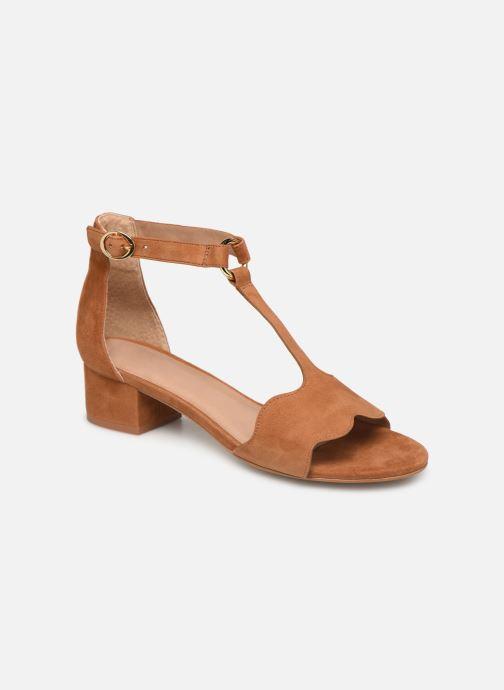 Sandales et nu-pieds Nat & Nin GHIZO Marron vue détail/paire