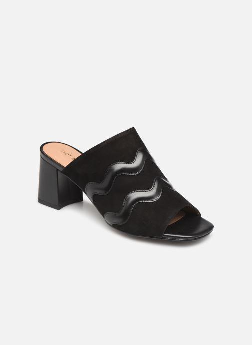 Clogs & Pantoletten Nat & Nin MOOREA schwarz detaillierte ansicht/modell