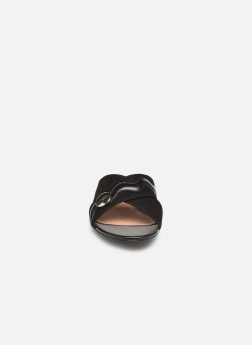 Mules et sabots Nat & Nin SAMUI Noir vue portées chaussures