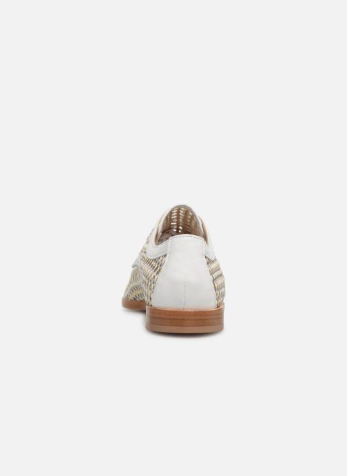 Lace-up shoes Anaki PALERMO Bronze and Gold view from the right