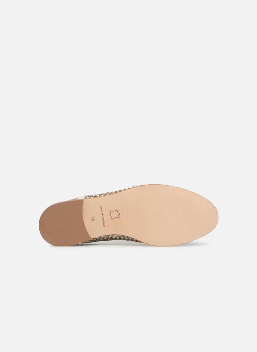Chaussures à lacets Anaki PALERMO Or et bronze vue haut