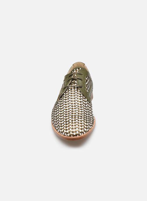 Zapatos con cordones Anaki PALERMO Verde vista del modelo