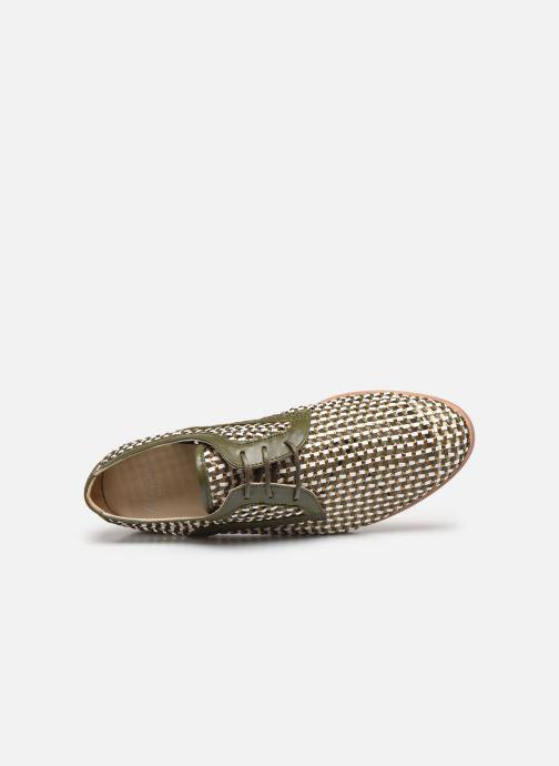 Zapatos con cordones Anaki PALERMO Verde vista lateral izquierda