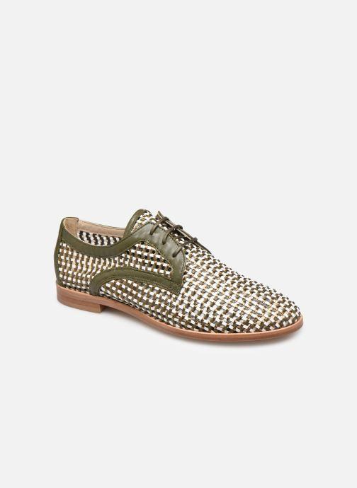 Zapatos con cordones Anaki PALERMO Verde vista de detalle / par