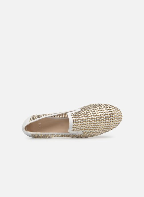 Slipper Anaki OSTUNI gold/bronze ansicht von links