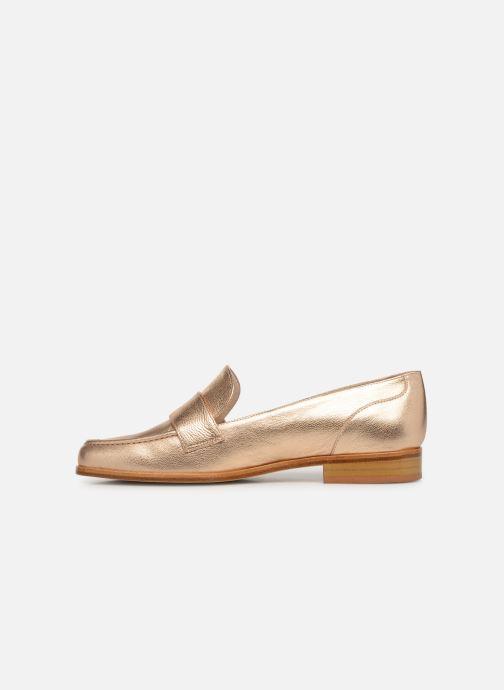 Slipper Anaki PISA gold/bronze ansicht von vorne