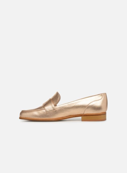 Loafers Anaki PISA Bronze and Gold front view