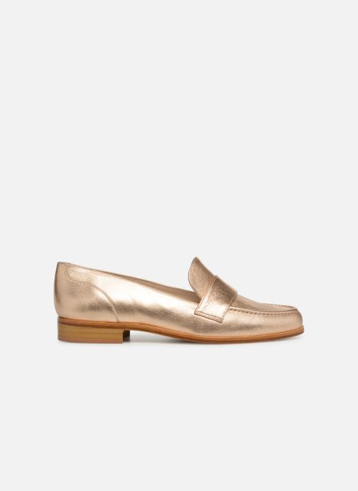 Loafers Anaki PISA Bronze and Gold back view