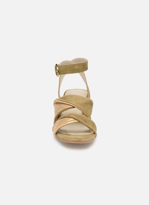 Sandals Anaki FLORA Green model view