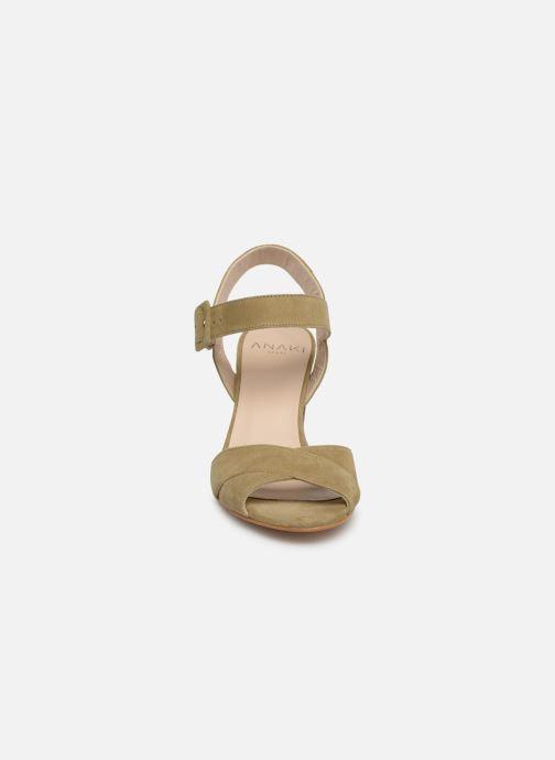 Sandales et nu-pieds Anaki FREDDO Vert vue portées chaussures