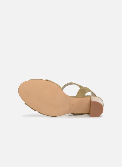 Sandales et nu-pieds Anaki FREDDO Vert vue haut