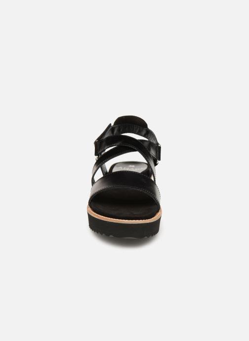 Sandales et nu-pieds Anaki NOCCIA Noir vue portées chaussures