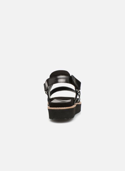 Sandales et nu-pieds Anaki NOCCIA Noir vue droite