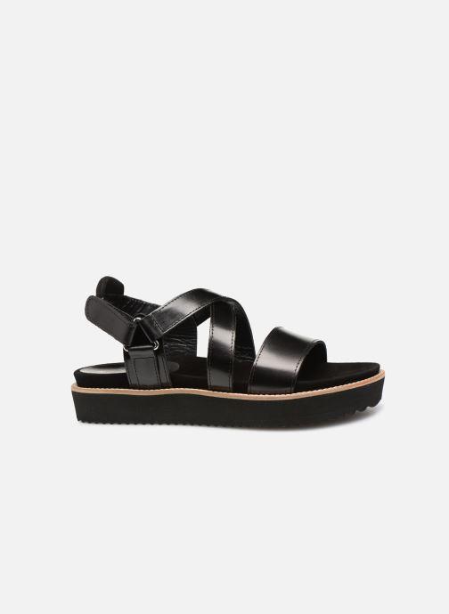 Sandales et nu-pieds Anaki NOCCIA Noir vue derrière