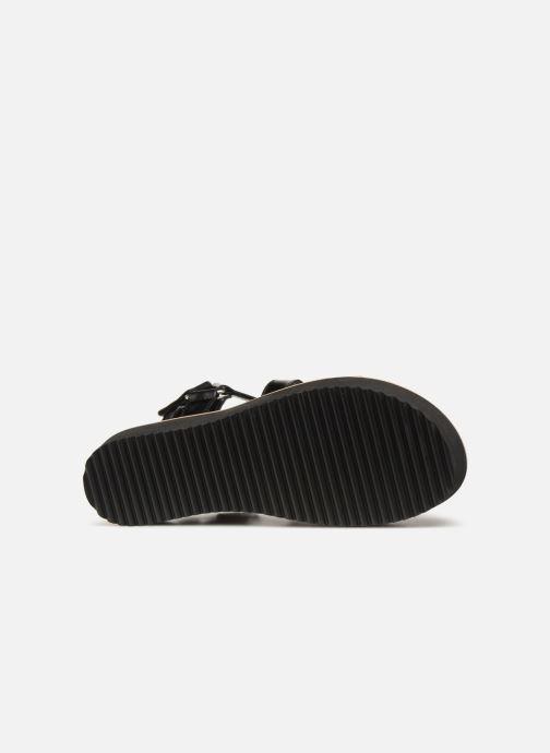 Sandales et nu-pieds Anaki NOCCIA Noir vue haut