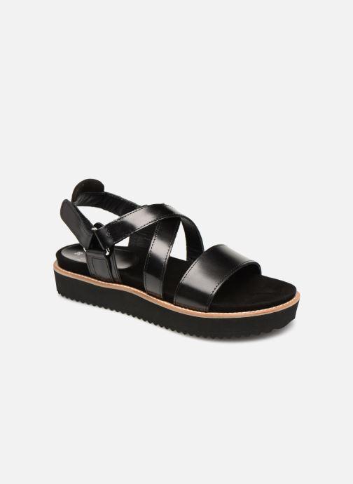 Sandales et nu-pieds Anaki NOCCIA Noir vue détail/paire