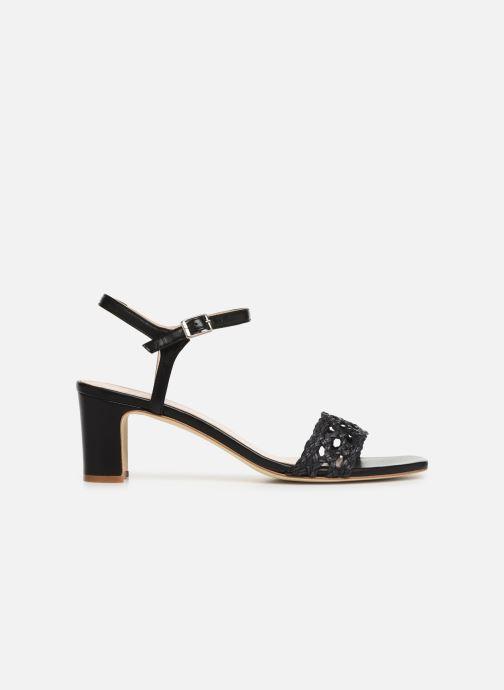 Sandales et nu-pieds Anaki DISO Noir vue derrière