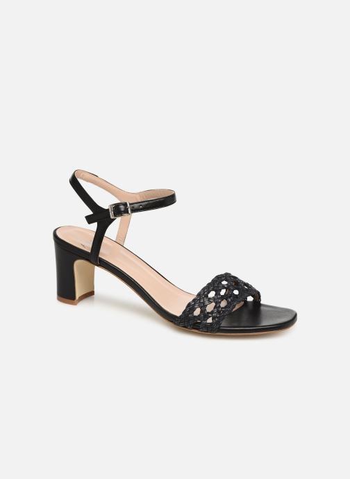 Sandales et nu-pieds Anaki DISO Noir vue détail/paire