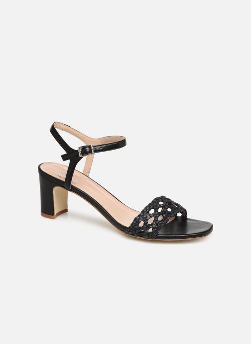 Sandals Anaki DISO Black detailed view/ Pair view
