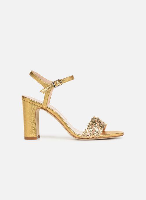 Sandales et nu-pieds Anaki DOLCE Or et bronze vue derrière