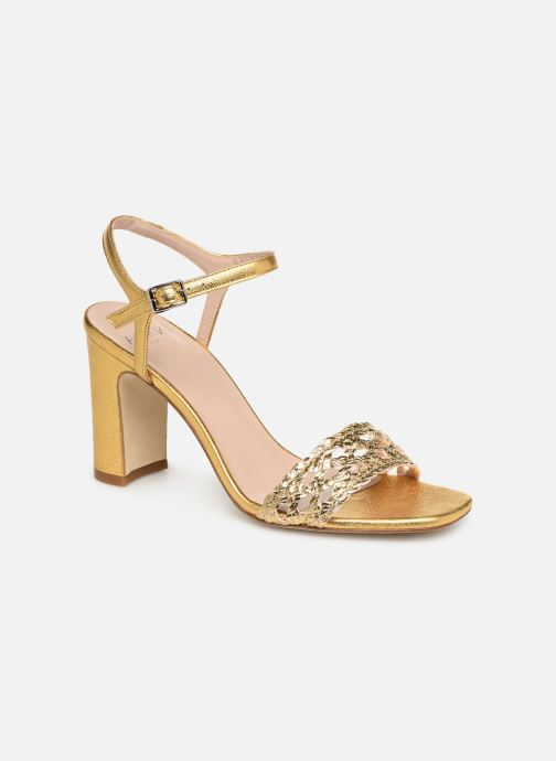 Sandals Anaki DOLCE Bronze and Gold detailed view/ Pair view