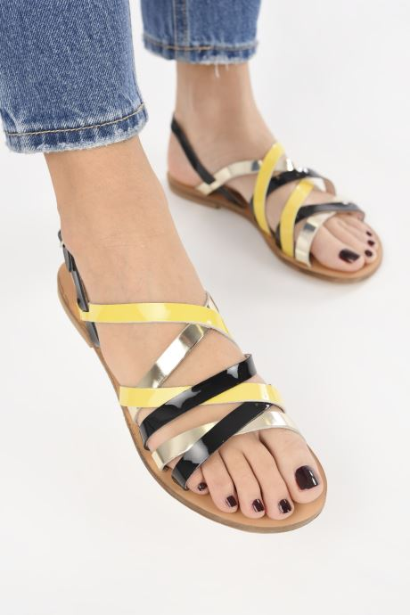 Sandals Anaki ALMA Multicolor view from underneath / model view