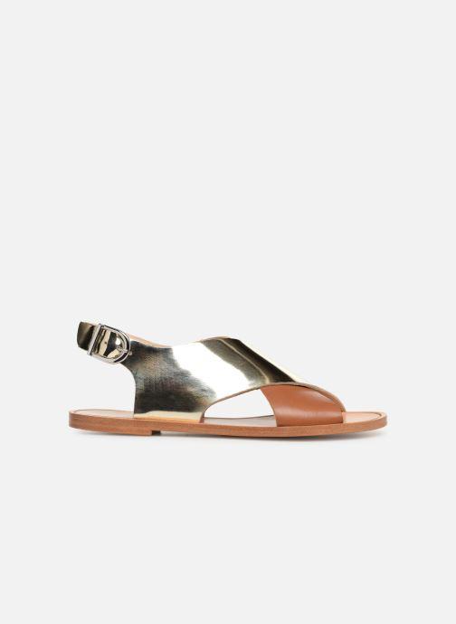 Sandales et nu-pieds Anaki AUSTIN Or et bronze vue derrière