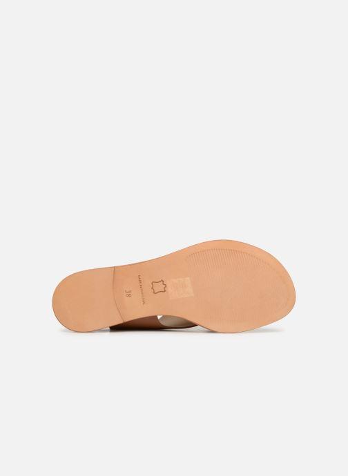 Sandales et nu-pieds Anaki AUSTIN Or et bronze vue haut