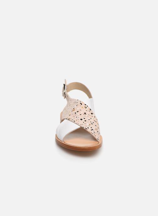 Sandales et nu-pieds Anaki AUSTIN Beige vue portées chaussures
