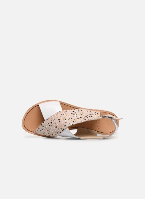 Sandales et nu-pieds Anaki AUSTIN Beige vue gauche