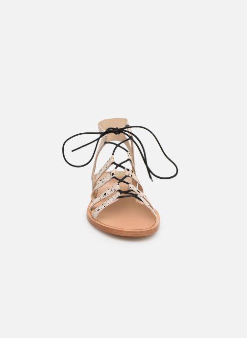 Sandales et nu-pieds Anaki Arena Beige vue portées chaussures