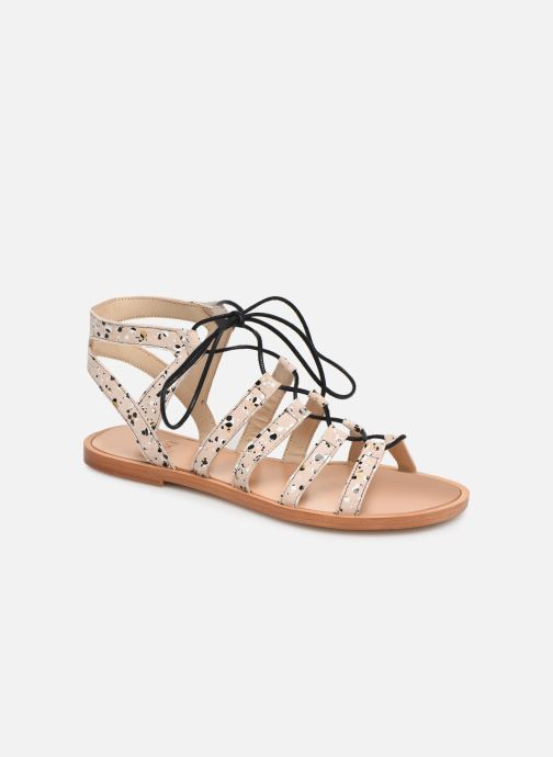 Sandals Anaki Arena Beige detailed view/ Pair view