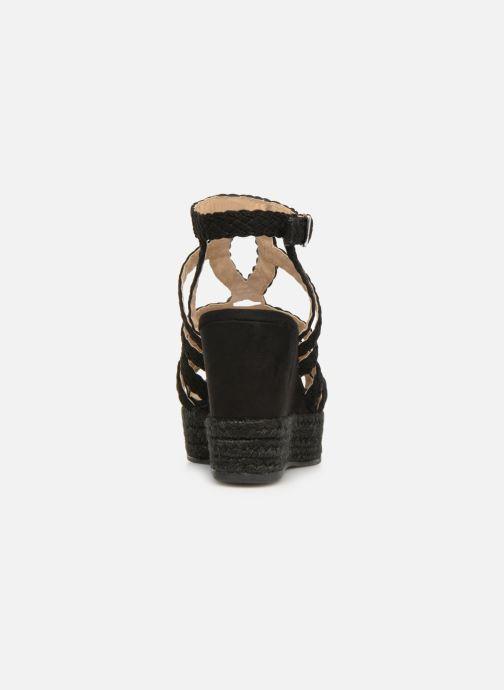 Sandales et nu-pieds Bullboxer 175011F2T Noir vue droite