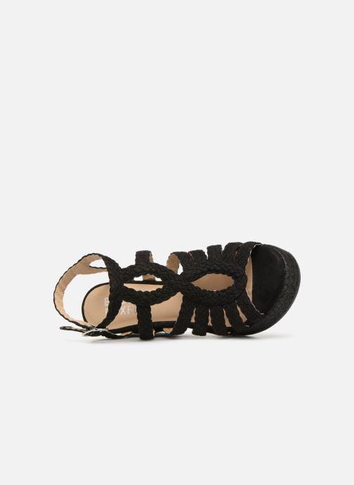 Sandales et nu-pieds Bullboxer 175011F2T Noir vue gauche