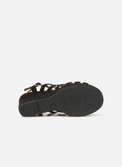 Sandales et nu-pieds Bullboxer 175011F2T Noir vue haut