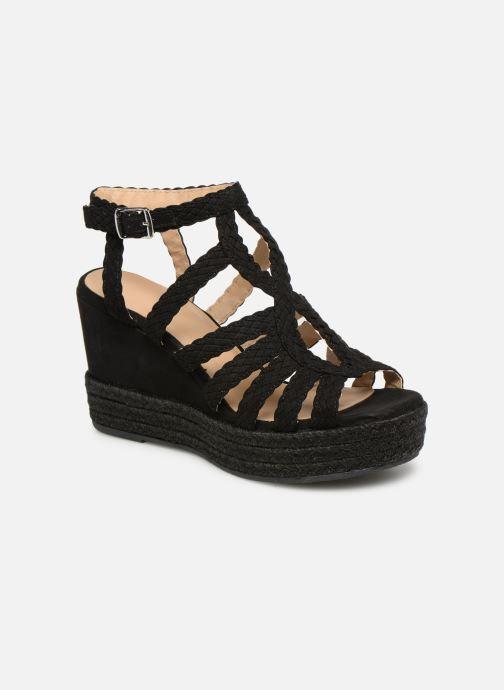 Sandales et nu-pieds Bullboxer 175011F2T Noir vue détail/paire