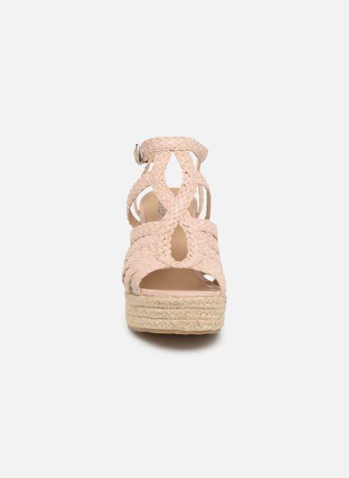 Sandales et nu-pieds Bullboxer 175011F2T Rose vue portées chaussures