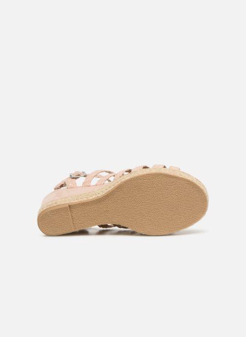 Sandales et nu-pieds Bullboxer 175011F2T Rose vue haut