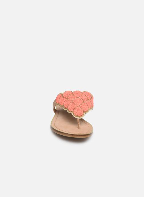 Mules et sabots Bullboxer 286014I1L Orange vue portées chaussures