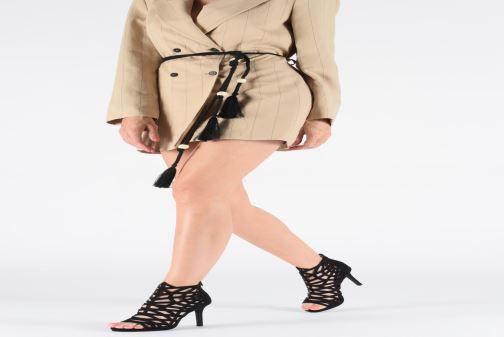 Sandales et nu-pieds Bullboxer 059508F2T Noir vue bas / vue portée sac