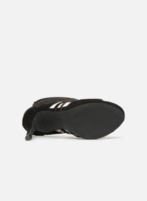 Sandales et nu-pieds Bullboxer 059508F2T Noir vue haut