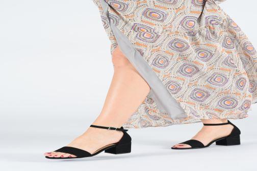 Sandales et nu-pieds Bullboxer 015001F2T Noir vue bas / vue portée sac