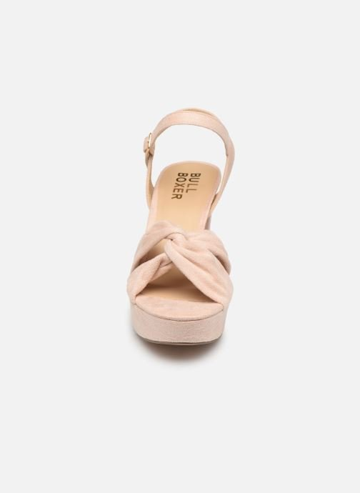 Sandales et nu-pieds Bullboxer 127012F2T Beige vue portées chaussures