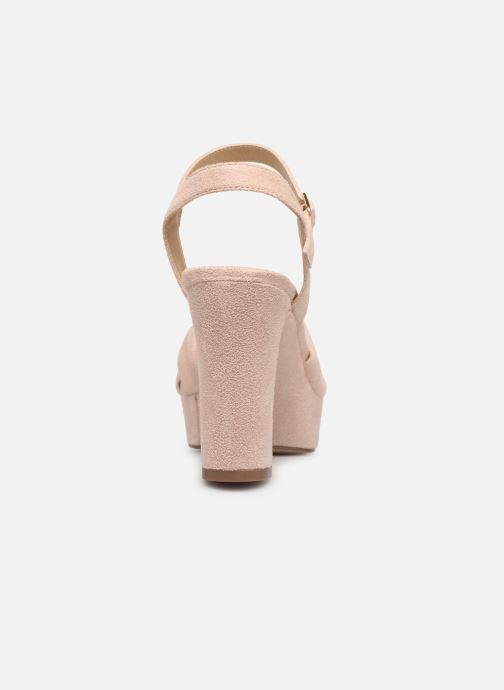 Sandales et nu-pieds Bullboxer 127012F2T Beige vue droite