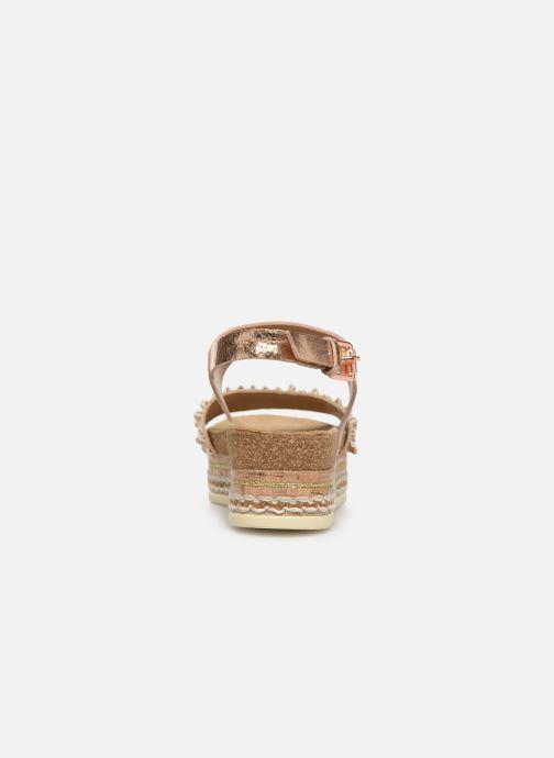 Sandales et nu-pieds Bullboxer 886028F2L Or et bronze vue droite