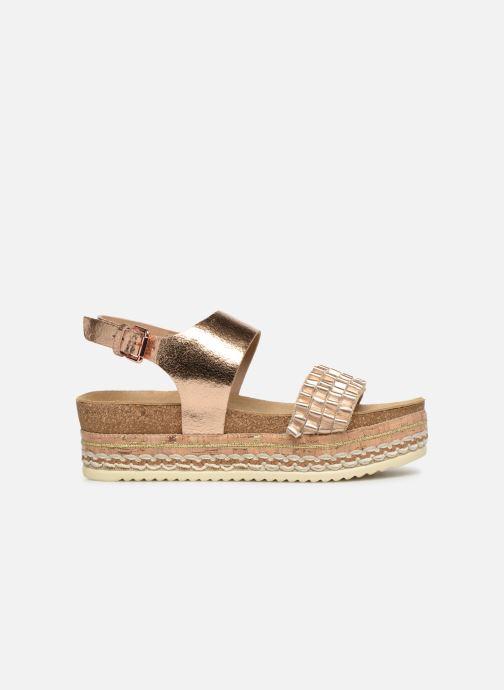 Sandales et nu-pieds Bullboxer 886028F2L Or et bronze vue derrière