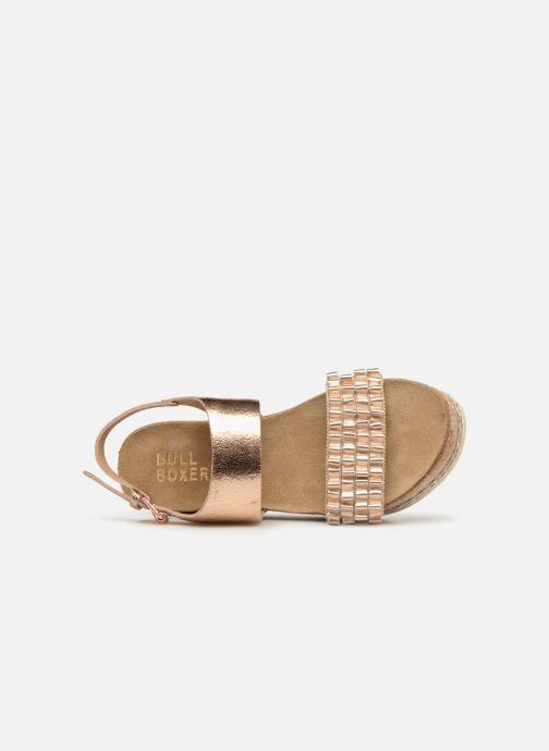 Sandales et nu-pieds Bullboxer 886028F2L Or et bronze vue gauche