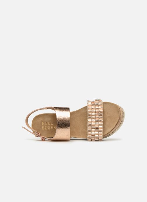 Sandals Bullboxer 886028F2L Bronze and Gold view from the left