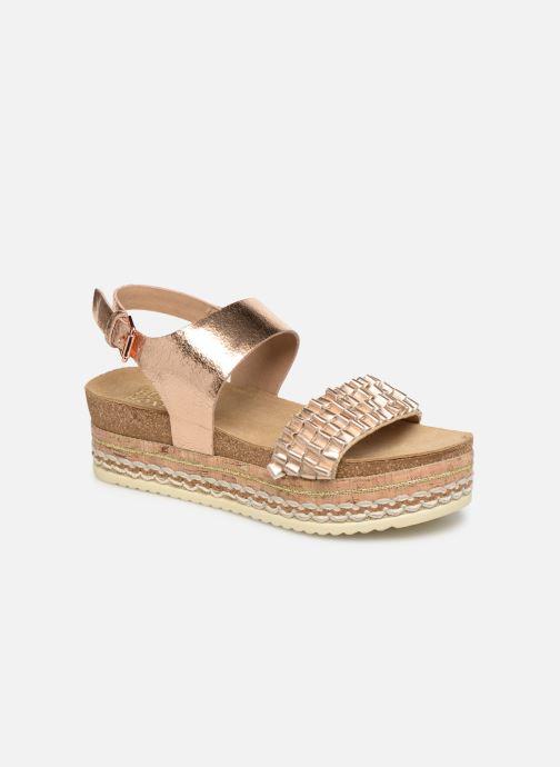 Sandales et nu-pieds Bullboxer 886028F2L Or et bronze vue détail/paire