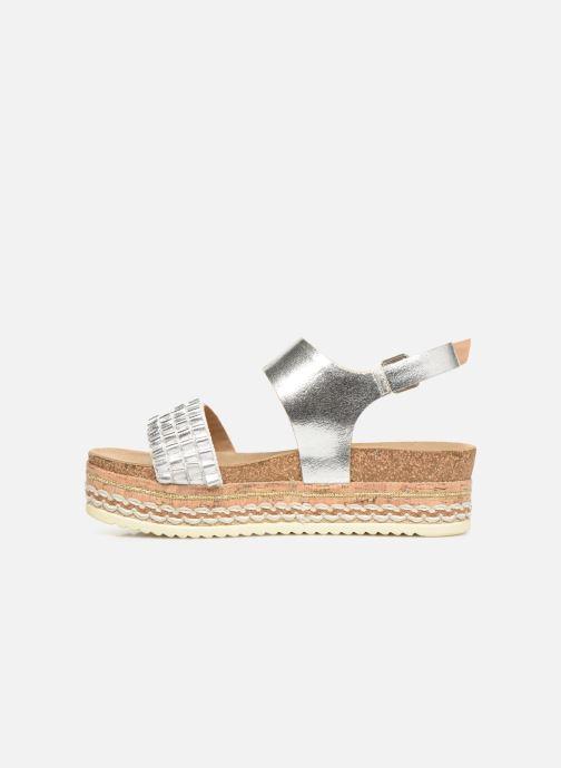 Sandales et nu-pieds Bullboxer 886028F2L Argent vue face